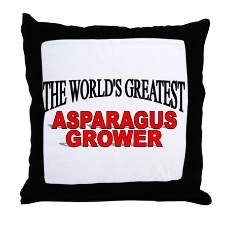 """""""The World's Greatest Asparagus Grower"""" Throw Pill"""
