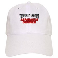 """The World's Greatest Asparagus Grower"" Baseball Cap"