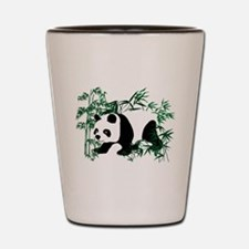 Panda Bear on the Prowl Walking in the Shot Glass