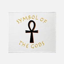 Symbol of Gods Throw Blanket