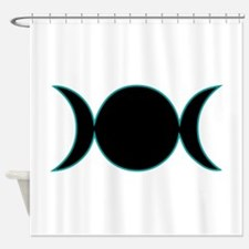 Circle & Cresents Shower Curtain