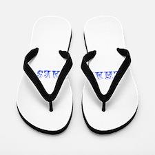 Chaparrals-Max blue 400 Flip Flops
