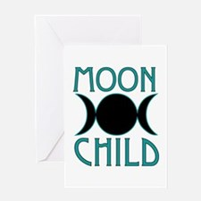 Moon Child Greeting Cards