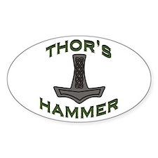 Thors Hammer Decal