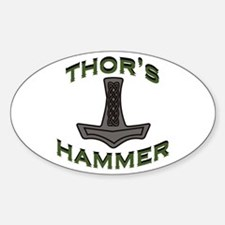 Thors Hammer Decal