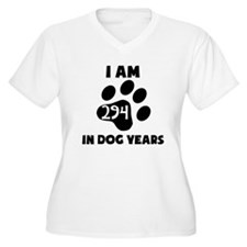 42nd Birthday Dog Years Plus Size T-Shirt