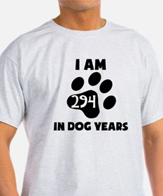 42nd Birthday Dog Years T-Shirt