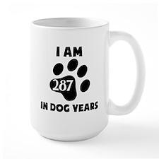 41st Birthday Dog Years Mugs