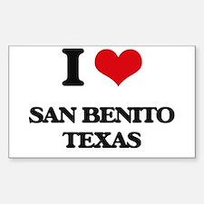 I love San Benito Texas Decal