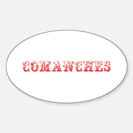 Comanches-Max red 400 Decal