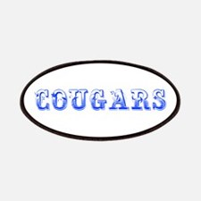 Cougars-Max blue 400 Patch