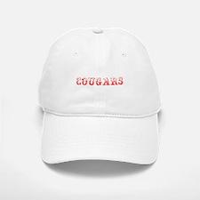 Cougars-Max red 400 Baseball Baseball Baseball Cap