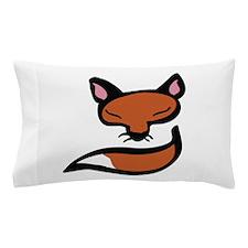Fox Head & Tail Pillow Case