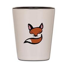 Fox Head & Tail Shot Glass