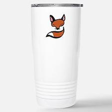Fox Head & Tail Travel Mug