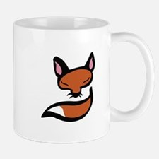 Fox Head & Tail Mugs