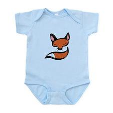 Fox Head & Tail Body Suit