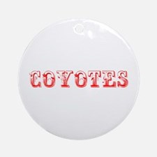 Coyotes-Max red 400 Ornament (Round)