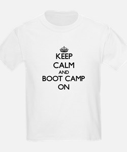 Keep Calm and Boot Camp ON T-Shirt