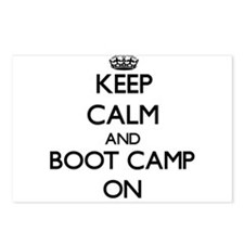 Keep Calm and Boot Camp O Postcards (Package of 8)