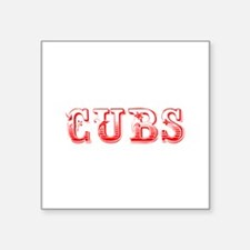 Cubs-Max red 400 Sticker
