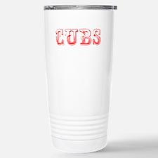 Cubs-Max red 400 Travel Mug