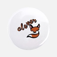 """Clever Fox 3.5"""" Button"""
