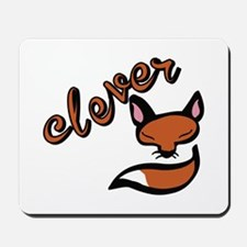 Clever Fox Mousepad