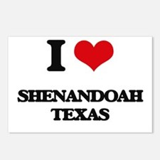 I love Shenandoah Texas Postcards (Package of 8)