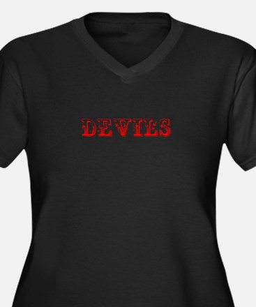 devils-Max red 400 Plus Size T-Shirt