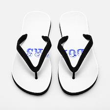 dodgers-Max blue 400 Flip Flops