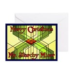 Starchy Miser Christmas Greeting Cards (Pk of 20)