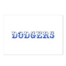 dodgers-Max blue 400 Postcards (Package of 8)