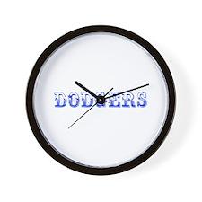 dodgers-Max blue 400 Wall Clock