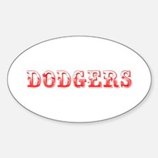 dodgers-Max red 400 Decal