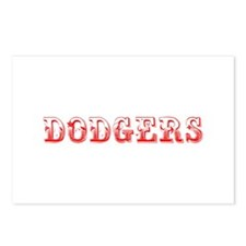 dodgers-Max red 400 Postcards (Package of 8)