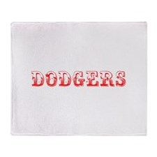 dodgers-Max red 400 Throw Blanket