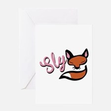 Sly Fox Greeting Cards