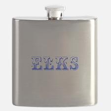 Elks-Max blue 400 Flask