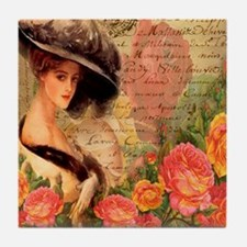Lady Anne Tile Coaster