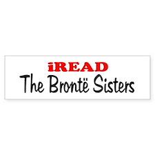 iREAD The Bronte Sisters Bumper Bumper Sticker