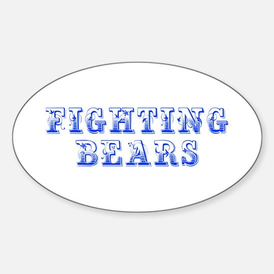 Fighting Bears-Max blue 400 Decal