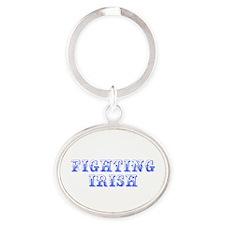 Fighting Irish-Max blue 400 Keychains