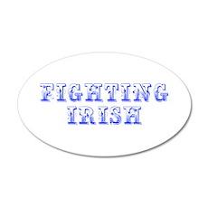 Fighting Irish-Max blue 400 Wall Decal