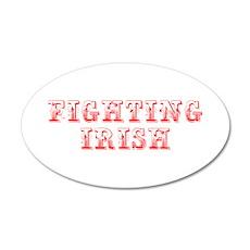 Fighting Irish-Max red 400 Wall Decal