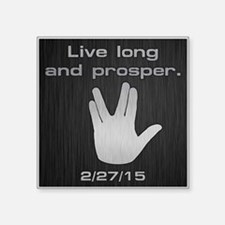 "SPOCK LLAP 22715 Square Sticker 3"" x 3"""