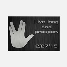 SPOCK LLAP 22715 Rectangle Magnet