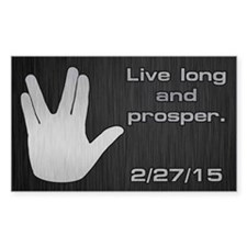 SPOCK LLAP 22715 Decal