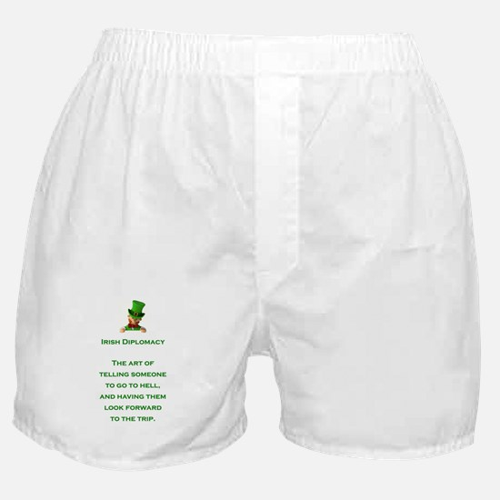 IRISH DIPLOMACY Boxer Shorts