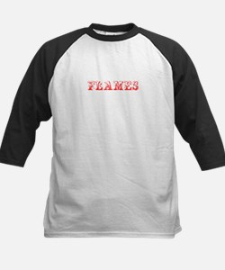 Flames-Max red 400 Baseball Jersey